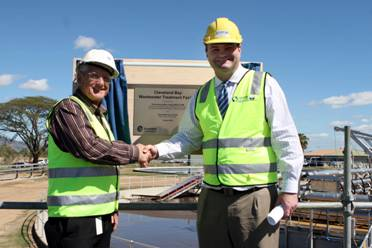 Cleveland Bay Water Treatment Plant opening